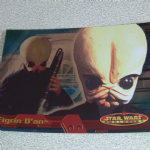 Star Wars Evolution topps 2001 Figrin D'an Foil card (